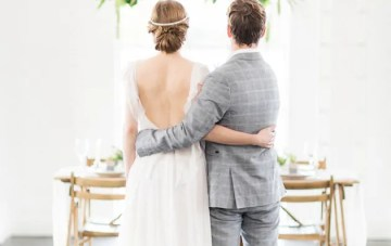 Industrial and Rustic Wedding Inspiration in London