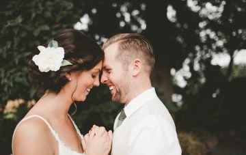 Adorable Smile-Filled Backyard Wedding