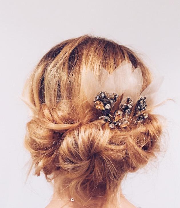Wedding Hairstyle Diy: DIY Wedding Hair: Easy DIY Updo Hair Tutorial