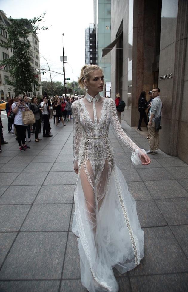 a8f7530d6310 Inbal Dror Wedding Dress Collection 2016 | Bridal Musings Wedding Blog 17