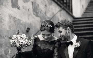 Romantic, Dramatic & Beautiful Wedding Film Inspiration from Prague