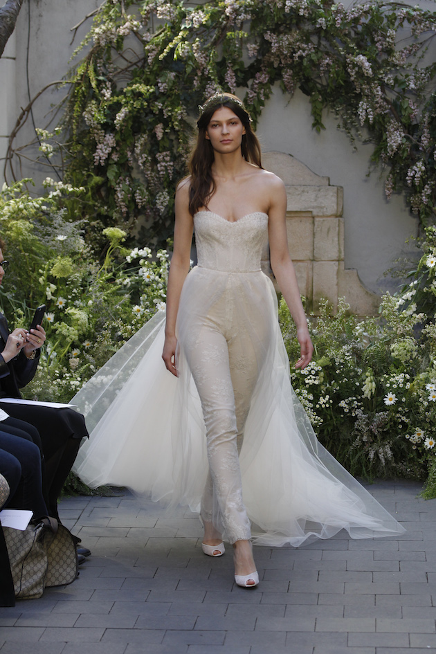 Monique Lhuillier Wedding Dress Collection Spring 2017