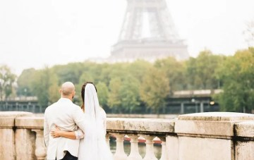 Romantic Elopement In Paris (with Vows at the Eiffel Tower)
