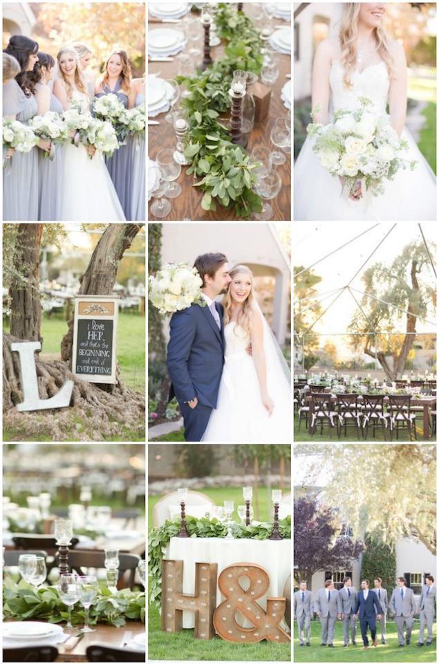 Beautiful Outdoor Wedding | Amy U0026 Jordan Photography | Bridal Musings  Wedding Blog