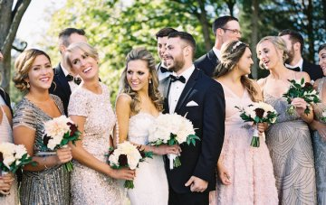 Luxuriously Rustic Southern Wedding in Fall