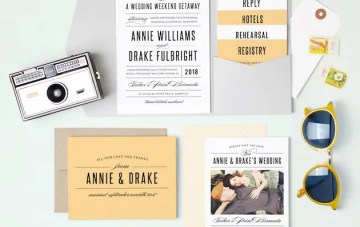 Wedding Invitation Inspiration with Basic Invite