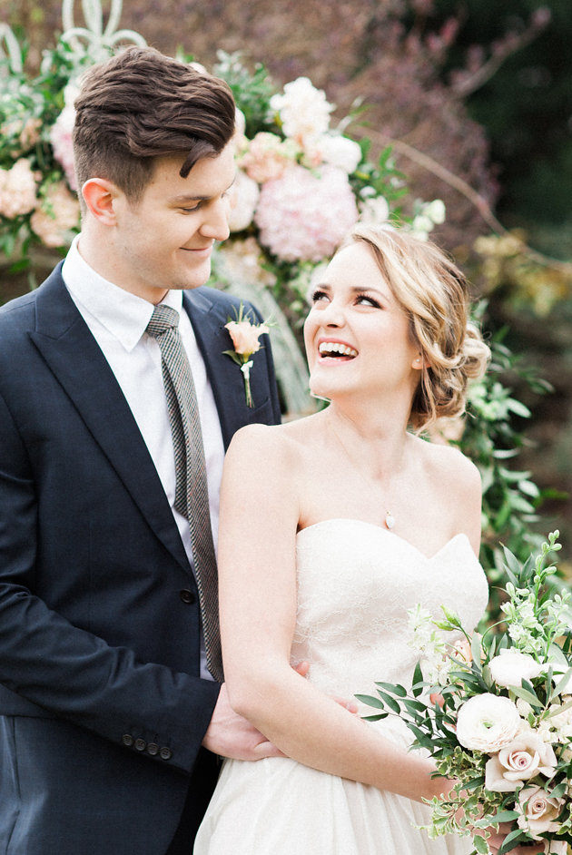 Pretty English Garden Wedding Inspiration