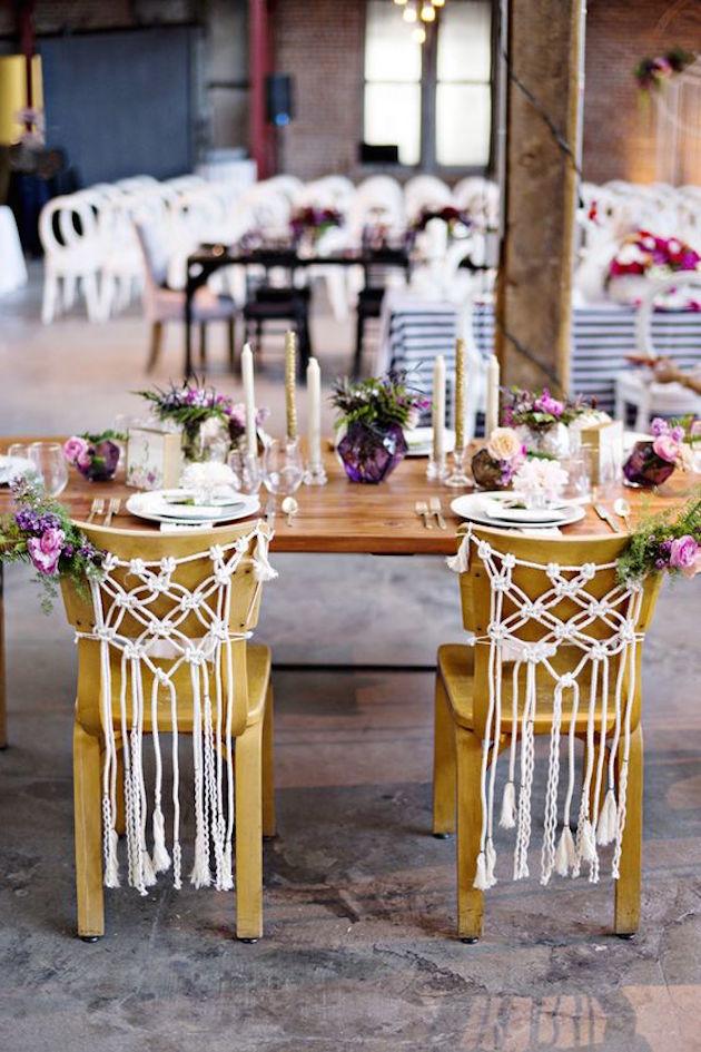 Gorgeous Chair Ideas for Weddings | Bridal Musings Wedding Blog 13