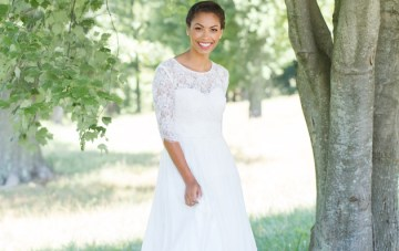 Gorgeous Ethical Wedding Dresses: Celia Grace Lookbook 2017