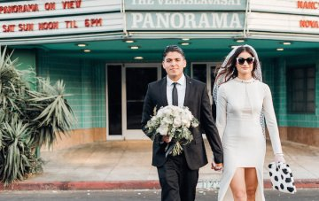 Cool Retro Elopement Inspiration from L.A.
