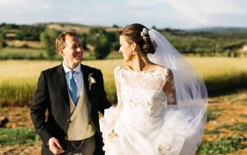 Elegant & Understated Destination Wedding in Tuscany
