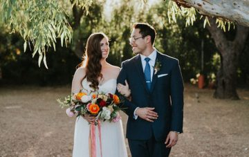 Fun Fiesta Wedding with DIY Decor and Gorgeous Florals