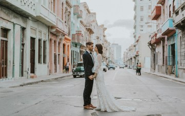 Stylish & Atmospheric Havana Wedding Inspiration