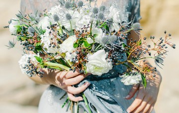 Gorgeous Non-Traditional Colour Palettes for Winter Weddings
