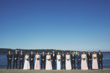 Cool Seattle Wedding by Claire Eliza Photography 17