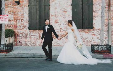 Romantic LA Wedding with Lovely Details & Chic Style