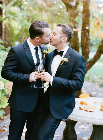 Rustic Fall Wedding Inspiration by Sylvia Gil Photography and Kate Siegel 33