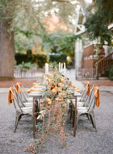 Rustic Fall Wedding Inspiration by Sylvia Gil Photography and Kate Siegel 40
