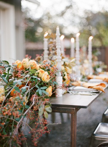 Rustic Fall Wedding Inspiration by Sylvia Gil Photography and Kate Siegel 41