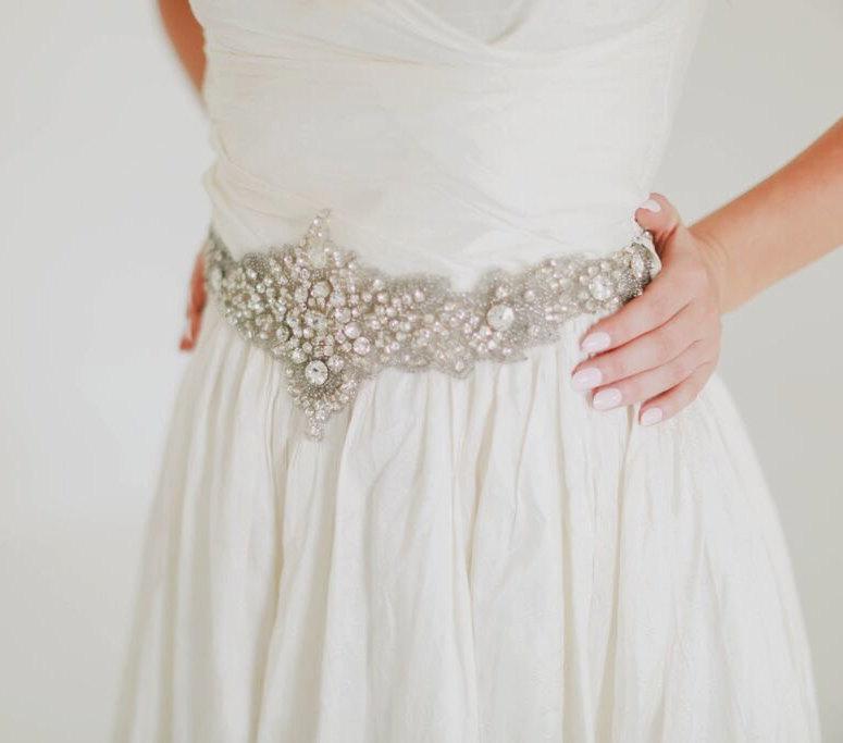 10 Beautiful Bridal Sashes Belts