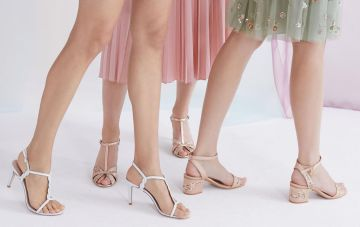 10 Gorgeous Mid-Heels for Brides and Bridesmaids