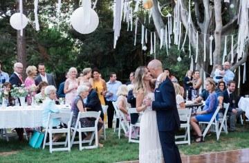 California Garden Wedding