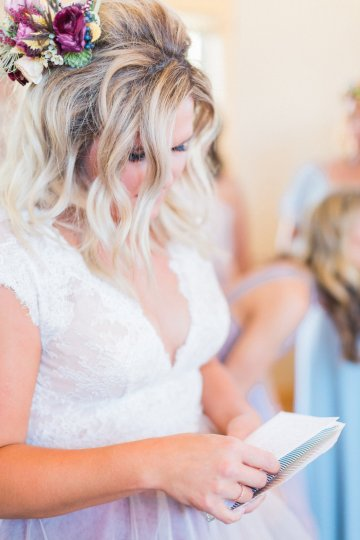 Romantic Jewel-Toned Wedding by Sara Lynn Photography 1