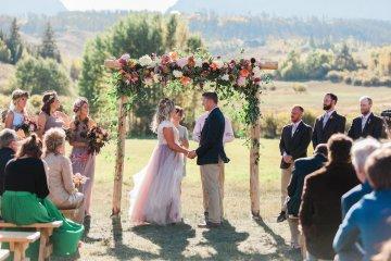 Romantic Jewel-Toned Wedding by Sara Lynn Photography 13