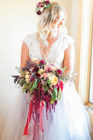 Romantic Jewel-Toned Wedding by Sara Lynn Photography 2