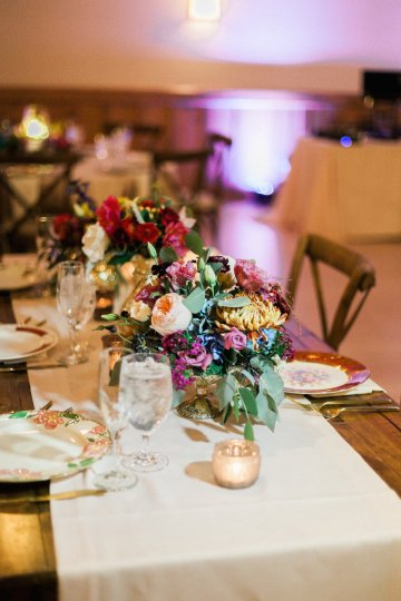 Romantic Jewel-Toned Wedding by Sara Lynn Photography 21