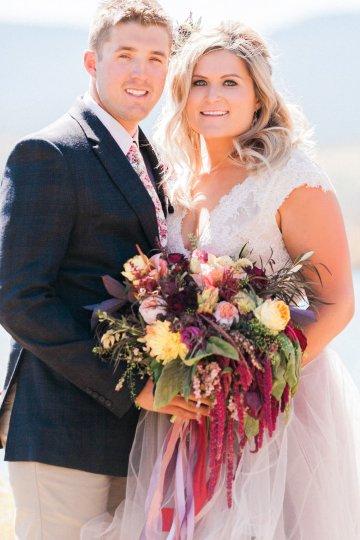 Romantic Jewel-Toned Wedding by Sara Lynn Photography 35