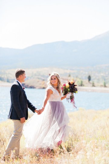 Romantic Jewel-Toned Wedding by Sara Lynn Photography 37