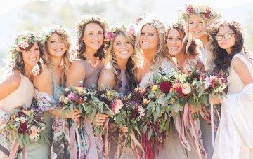 Romantic Jewel-Toned Wedding by Sara Lynn Photography 39