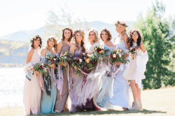 Romantic Jewel-Toned Wedding by Sara Lynn Photography 4