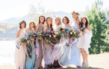 Romantic Jewel-Toned Wedding by Sara Lynn Photography 4