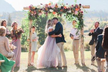 Romantic Jewel-Toned Wedding by Sara Lynn Photography 43