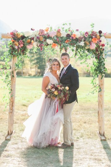 Romantic Jewel-Toned Wedding by Sara Lynn Photography 45