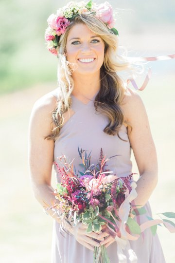 Romantic Jewel-Toned Wedding by Sara Lynn Photography 5