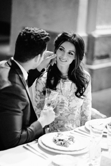 Romantic Valentine's Wedding Inspiration by En Route Photography 43