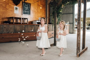 Stylish Barn Wedding by The White Tree Photography 10
