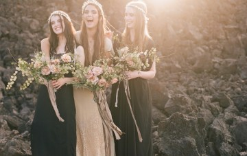 Cool, Alternative, and Atmospheric Wedding Inspiration