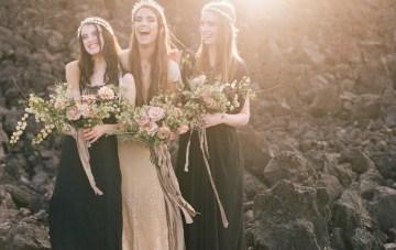 Cool, Alternative, and Atmospheric Wedding Inspiration
