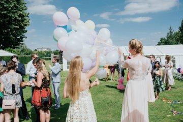 Balloon-Filled Wedding by Marilyn Bartman Photography 17