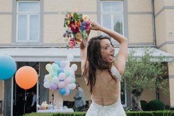 Balloon-Filled Wedding by Marilyn Bartman Photography 22