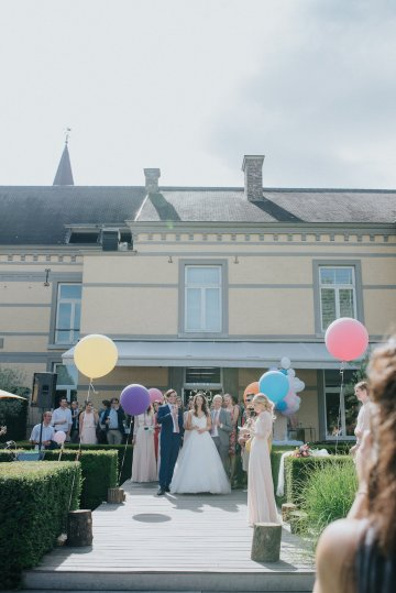 Balloon-Filled Wedding by Marilyn Bartman Photography 46