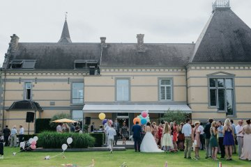 Balloon-Filled Wedding by Marilyn Bartman Photography 64