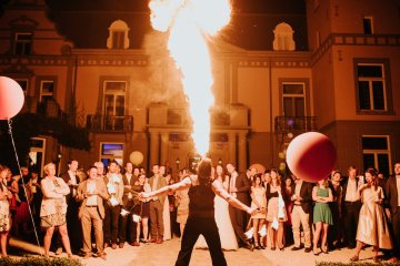 Balloon-Filled Wedding by Marilyn Bartman Photography 76