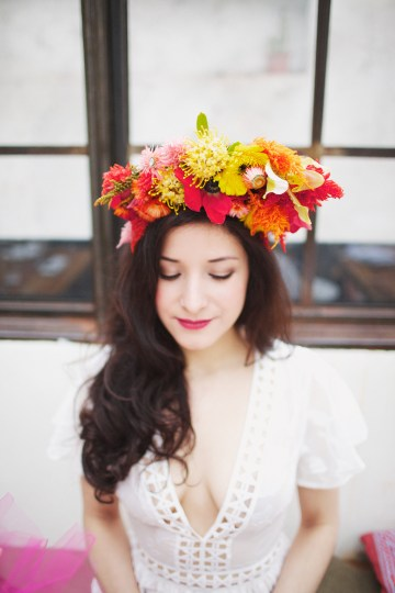 Cool Fiesta Wedding Inspiration by Claire Eliza Photography and High Violet Flowers 15