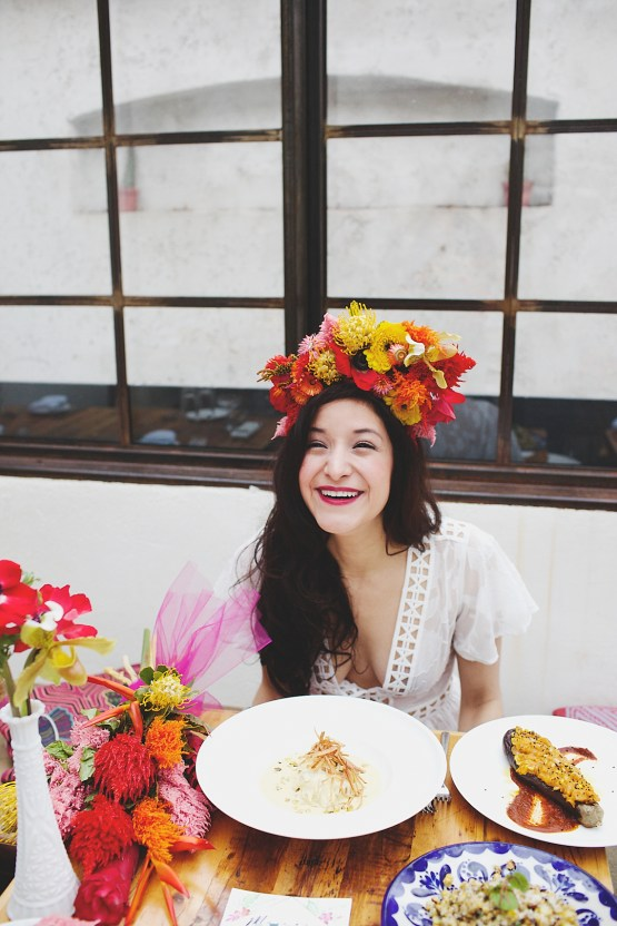 Cool Fiesta Wedding Inspiration by Claire Eliza Photography and High Violet Flowers 45