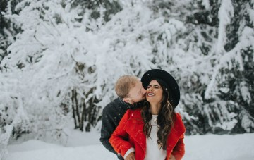 The Cutest Winter Engagement Shoot